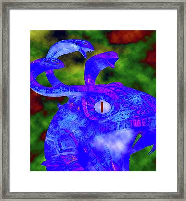 Curse Of The Cobra Framed Print by David Lee Thompson