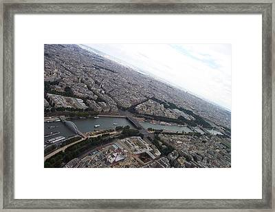 Curvature Framed Print by Mary Mikawoz