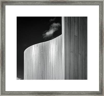 Curve Four Framed Print by Wim Lanclus