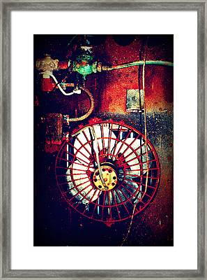 Curved Fan Framed Print by Dana  Oliver