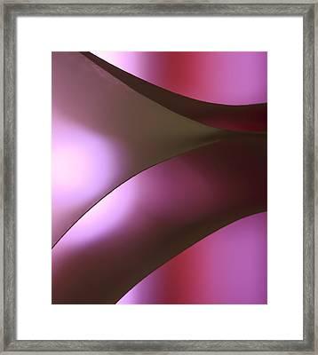 Curving Light Into Shadows Framed Print by Yogendra Joshi