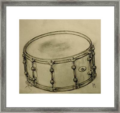 Custom Snare Framed Print by Pete Maier