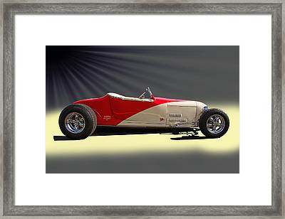 Customized T Bucket Framed Print by Nick Gray
