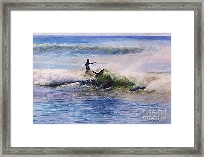 Cut Back Framed Print by Karol Wyckoff
