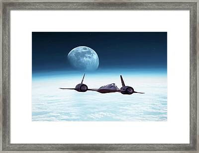Cutting Edge Framed Print by Peter Chilelli