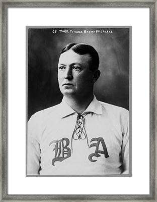 Cy Young Framed Print by Mountain Dreams