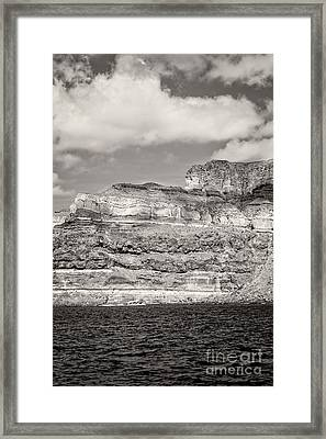 Cyclades Scenic Framed Print by HD Connelly
