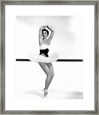 Cyd Charisse, 1955 Framed Print by Everett