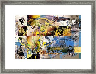 Da Bears V3 Framed Print by Jimi Bush