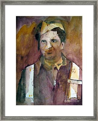 Dad I Never Knew Ye Framed Print by Sandy McIntire