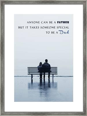 Dad Framed Print by Joana Kruse