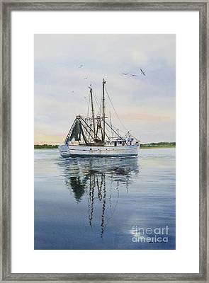 Daddy's Girls Framed Print by Karol Wyckoff