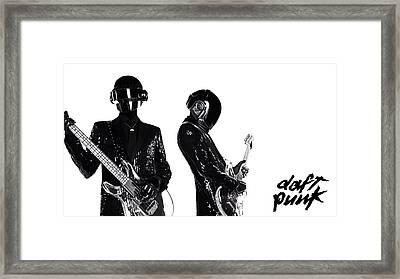 Daft Punk - 400 Framed Print by Jovemini ART