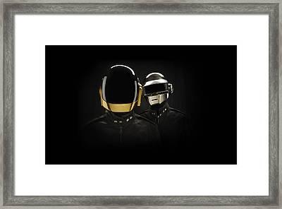 Daft Punk - 694 Framed Print by Jovemini ART