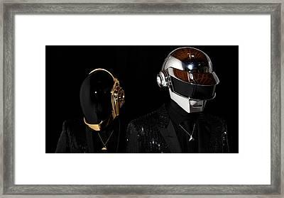Daft Punk - 75 Framed Print by Jovemini ART