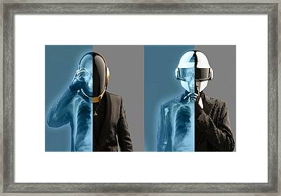 Daft Punk - 824 Framed Print by Jovemini ART