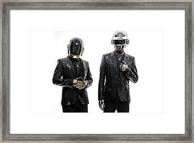 Daft Punk - 955 Framed Print by Jovemini ART