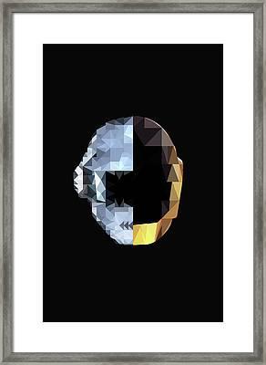 Daft Punk Framed Print by Poojit Rasalkar