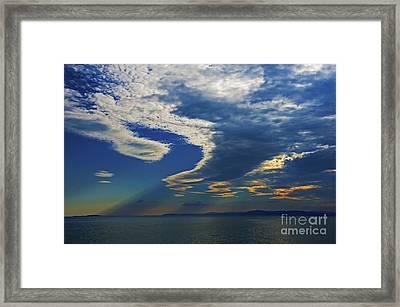 Daily Gratitude... Framed Print by Nina Stavlund