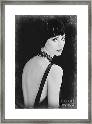 Daisy Buchanan  Framed Print by Diane Diederich