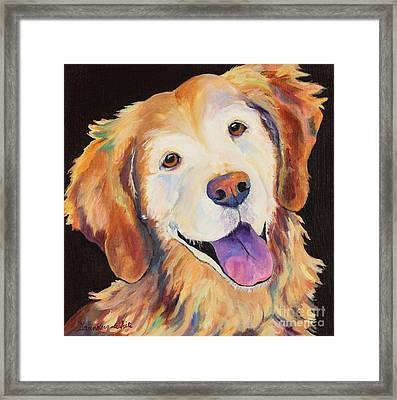 Daisy Framed Print by Pat Saunders-White