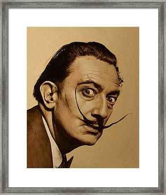 Dali Framed Print by Suzanne Roach
