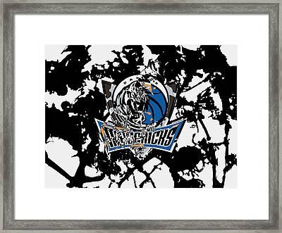 Dallas Mavericks 1d Framed Print by Brian Reaves