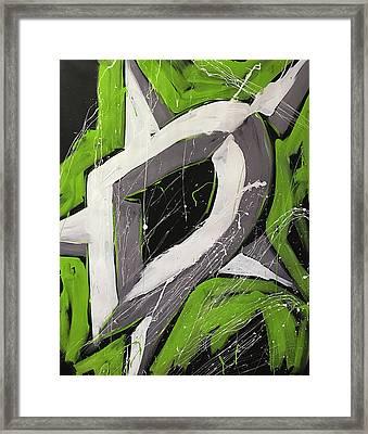 Dallas Stars Framed Print by Elliott From