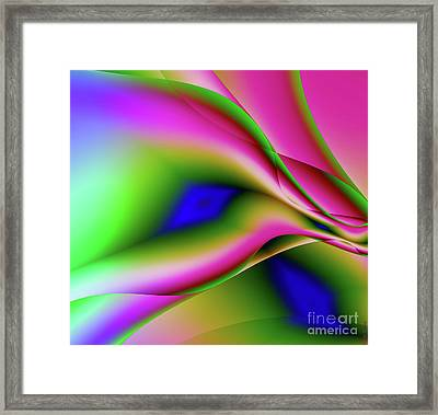 Dalliance Framed Print by Mindy Sommers