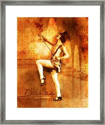 Dance Framed Print by Cathie Tyler