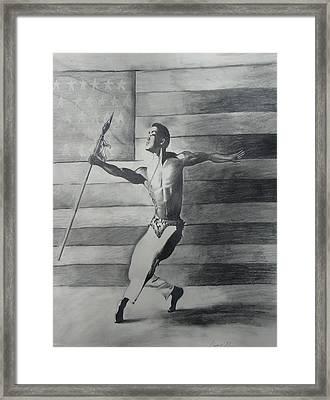 Dance For Freedom Framed Print by Stacy V McClain