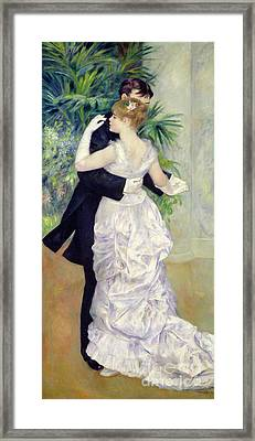Dance In The City Framed Print by Pierre Auguste Renoir