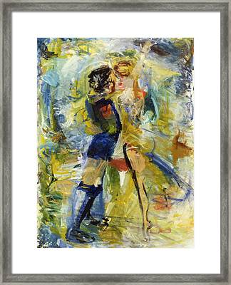 Dance Framed Print by Joan De Bot