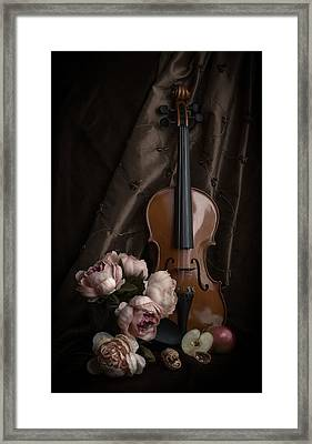 Dance Me To The End Of Love Framed Print by Maggie Terlecki