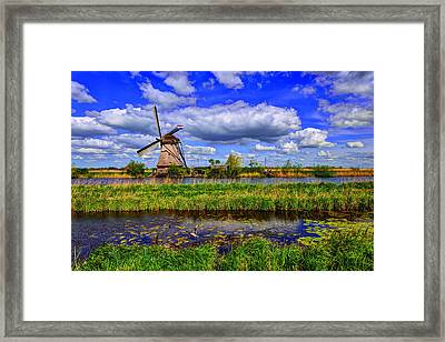 Dance Of Spring Framed Print by Midori Chan