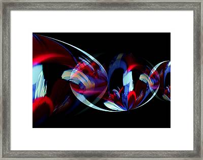 Dance Party Framed Print by Karen M Scovill