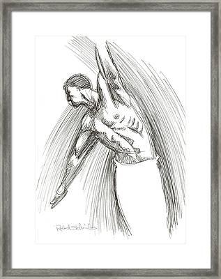 Dance Framed Print by Robert Schnieders