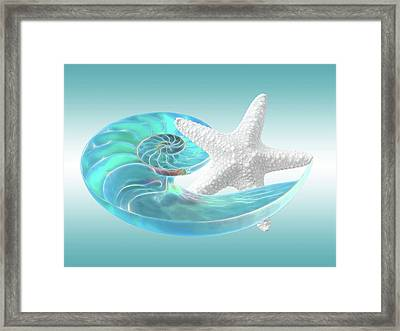 Dance With Me Framed Print by Gill Billington
