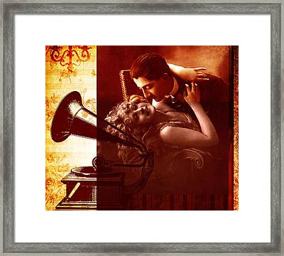 Dance With Me Framed Print by Ramneek Narang