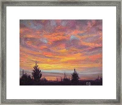 Dance With Me Framed Print by Robie Benve