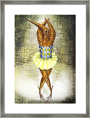 Dancer 2  Framed Print by Lolita Bronzini