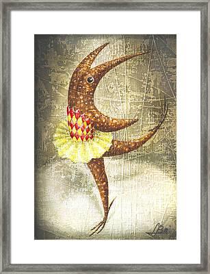 Dancer Framed Print by Lolita Bronzini