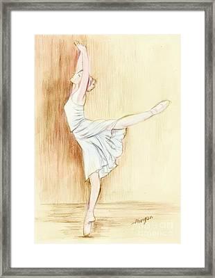Dancer Framed Print by Morgan Fitzsimons