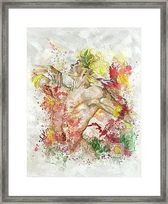 Dancing Apollo Framed Print by Rineke De Jong