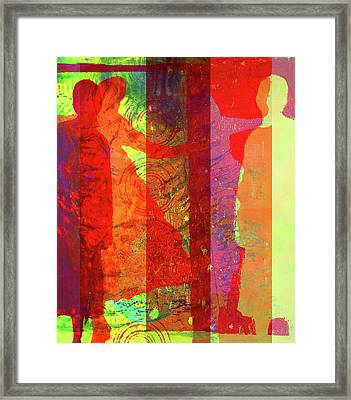 Dancing In Rio Framed Print by Nancy Merkle