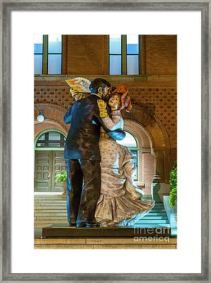 Dancing In The City Framed Print by Juli Scalzi