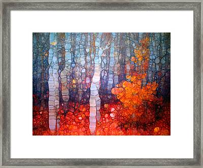 Dancing In The Forest Framed Print by Tara Turner