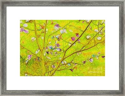 Dancing In The Wind 01 - 343 Framed Print by Variance Collections