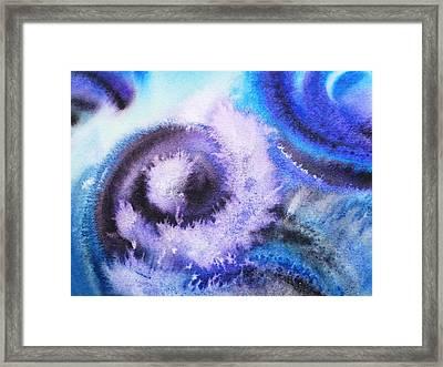 Dancing Water Iv Framed Print by Irina Sztukowski