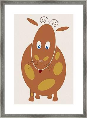 Dangerous Animal Framed Print by Frank Tschakert